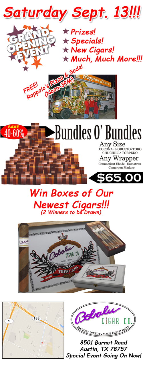 Austin's Newest Cigar Store
